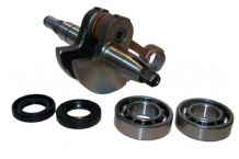COMPATIBLE STIHL 018 MS180 CRANKSHAFT WITH BEARINGS AND SEALS NEW 10MM PIN SIZE